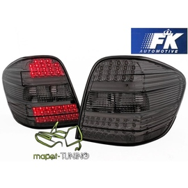 Mercedes M-klasa (W164) clear Black LED DIODOWE FK