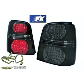 VW Touran 1T  LED BLACK Smoked czarne dymione diodowe FK  LDVW47