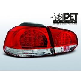 VW Golf 6 RED / WHITE LED czerwono białe diodowe  FK  LDVWB5