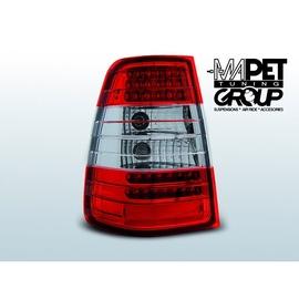 Mercedes E-klasa Kombi (W124) clear Red/White LED DIODOWE LDME25