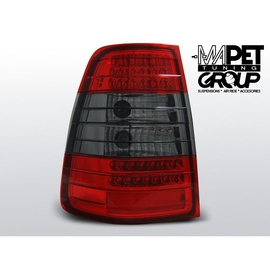Mercedes E-klasa Kombi (W124) clear Red/Black LED DIODOWE LDME26