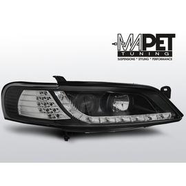 Opel Vectra B 95-98 BLACK  kierunkowskazy diodowe LED LPOP74