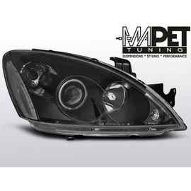 Mitsubishi Lancer 7  clear Angel Eyes BLACK ringi LPMI12