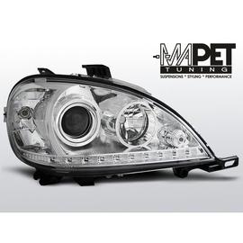 Mercedes M-klasa W163 ML  CHROM LED H7  LPME54