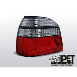 VW Golf 3 clearglass Red/White LED Czerwono/Białe Diodowe  FK LDVW50