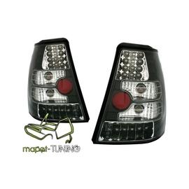 VW Golf 4 / Bora - KOMBI -  clear LED Black diodowe Czarne