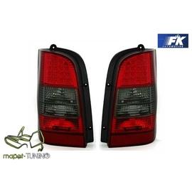 Mercedes Vito (W638) red black LED - czerwono / dymione  DIODOWE  LDME33
