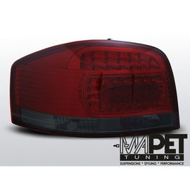 Audi A3 Red Black Led diodowe - LDAU67