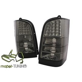 Mercedes Vito (W638) black LED - czarne / dymione  DIODOWE LDME34
