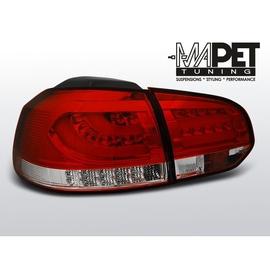 VW Golf 6 RED / WHITE LED BAR czerwono białe diodowe LDVWC9