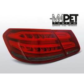 Mercedes E-klasa Sedan (W212) smoked red LED BAR - DIODOWE  LDME98