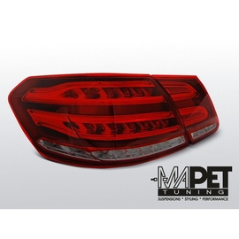 Mercedes E-klasa Sedan (W212) smoked red LED BAR - DIODOWE  LDME96