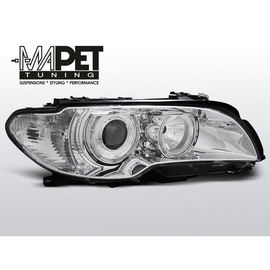 BMW E46 Coupe / Cabrio 03-05 Angel Eyes CHROM Ringi FK LPBM83