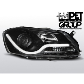 VW Passat B7 - BLACK LED TUBE LIGHTS LPVWI3