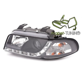 Audi A4 B5 94-98 - DayLight BLACK LED -  czarne  LPAU26