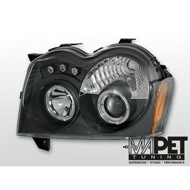 CHRYSLER JEEP GRAND CHEROKEE  05-08 BLACK Angel Eyes LPCH06