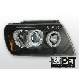 CHRYSLER JEEP GRAND CHEROKEE 99-05 BLACK Angel Eyes LPCH04