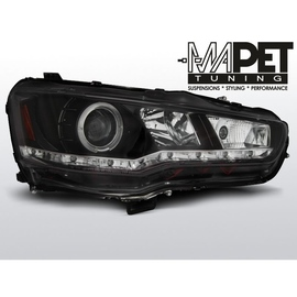 Mitsubishi Lancer 8 08-11 DAYLIGHT BLACK LED LPMI16