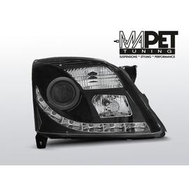 Opel Vectra C 02-05 DAYLIGHT BLACK XENON D2S DRL LED jazdy dziennej LPOP80