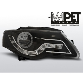 VW Passat B6 3C Diody BLACK LED RING LPVWF7