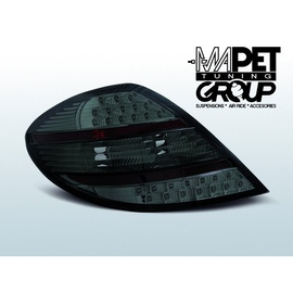 Mercedes SLK (R171) Clearglass Black LED diodowe LDME58