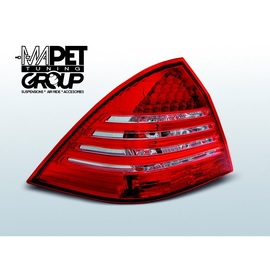 Mercedes C-klasa (W203) red / white LED - DIODOWE  LDME59