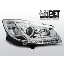 Opel Insignia 08-12 Chrome Tube LED DRL diodowe do jazdy dziennej LPOP94