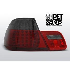 BMW E46 Coupe 99-03 Red / Smoke Led  - dymione czerwone diodowe LDBM70 DEPO FK