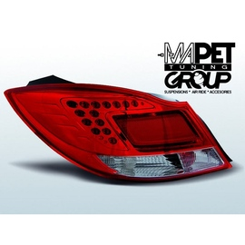 Opel Insignia -  Red / White LED - diodowe  LDOP28