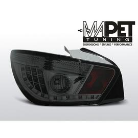 Seat Ibiza 6J 08-12  Smoked Black LED - diodowe LDSE16