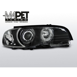 BMW E46 Coupe / Cabrio 99-01 Angel Eyes BLACK Ringi CCFL LPBMB7