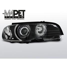 BMW E46 Coupe / Cabrio 99-01 Angel Eyes BLACK Ringi CCFL LPBMB7