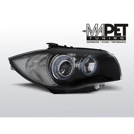 BMW 1 E87 / E81  04-07  BLACK Angel Eyes RING LPBMA4