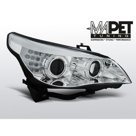 BMW E60 / E61  04-07  CHROM LED MIGACZ LPBMC0
