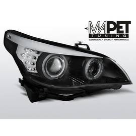 BMW E60 / E61  04-07  BLACK LED MIGACZ LPBMC1