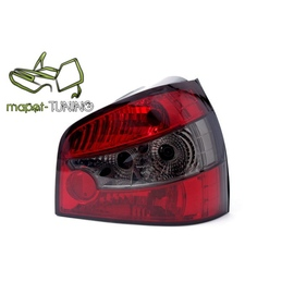 Audi A3 Clearglass Red/Black - LTAU24