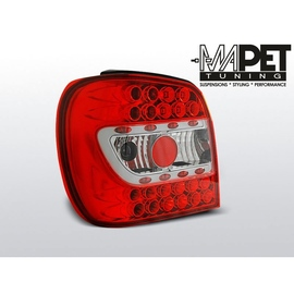 VW Polo 6N Hatchback 94-99 LED RED/WHITE diodowe LDVW66